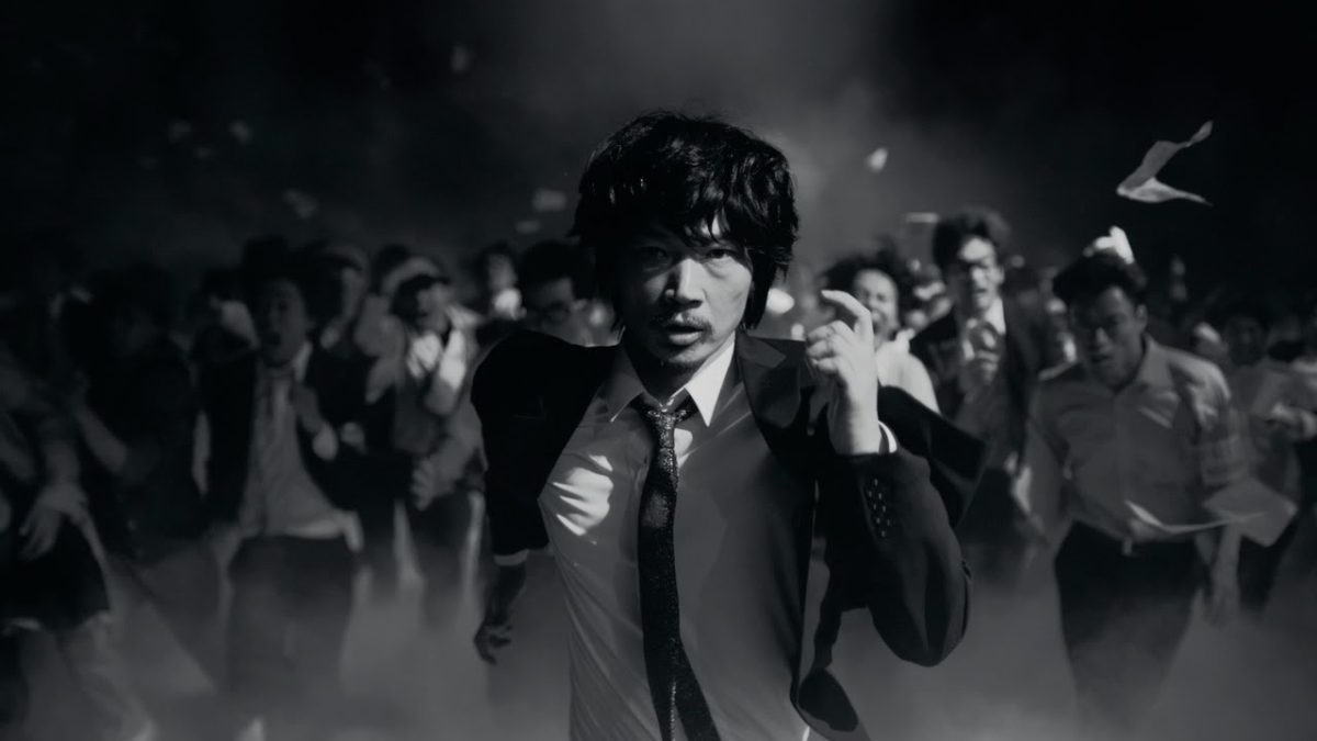 DoCoMo iPhone「記者たちの競争」篇